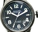 ブランド 腕時計 自動巻腕時計 オートマティック シーレーン機械式腕時計の鼓動を垣間見る事が出来るシースルーバック採用ブラックIP加工がセクシー 送料無料