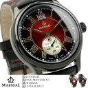 楽天スーパーSALE/スーパー/SALE マーシャル メンズ腕時計 革ベルト MRZ005 MARSHAL レザーベルト 腕時計 メンズ 革 ベルト 送料無料