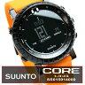 スント コア SUUNTO Core ss015914000 ブラックオレンジ 本格多機能アウトドアウォッチ クロノグラフ スポーツウォッチ メンズウォッチ 腕時計 メンズ腕時計 男性腕時計 うでどけい 送料無料
