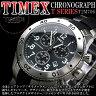 TIMEX タイメックス 高機能 クロノグラフ 腕時計 メンズウォッチ インディグロナイトライト 送料無料