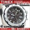 TIMEX タイメックス 腕時計 耐衝撃 EXPEDITION 1/20秒計測 センター クロノグラフ T49627