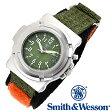 [送料無料] [正規品] スミス&ウェッソン Smith & Wesson ミリタリー腕時計 LAWMAN WATCH SWW-11-OD OLIVE DRAB [あす楽] [ラッピング無料]