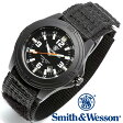 楽天スーパーSALE/スーパー/SALE [正規品] スミス&ウェッソン Smith & Wesson ミリタリー腕時計 SOLDIER WATCH NYLON STRAP BLACK SWW-12T-N [あす楽] [ラッピング無料] [送料無料]