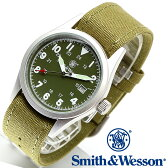 [送料無料] [正規品] スミス&ウェッソン Smith & Wesson ミリタリー腕時計 MILITARY WATCH OLIVE DRAB SWW-1464-OD [あす楽] [ラッピング無料]