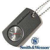 [送料無料] [正規品] スミス&ウェッソン Smith & Wesson ミリタリー 時計 DOG TAG WATCH BLACK SWW-1564-BK [あす楽] [ラッピング無料]