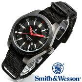 [送料無料] [正規品] スミス&ウェッソン Smith & Wesson スイス トリチウム ミリタリー腕時計 SWISS TRITIUM MILITARY H3 WATCH BLACK SWW-1864T [あす楽] [ラッピング無料]