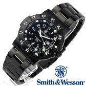 [送料無料] [正規品] スミス&ウェッソン Smith & Wesson スイス トリチウム ミリタリー腕時計 SWISS TRITIUM 357 SERIES COMMANDER WATCH BLACK SWW-357-BSS [あす楽] [ラッピング無料]
