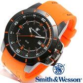 楽天スーパーSALE/スーパー/SALE [正規品] スミス&ウェッソン Smith & Wesson ミリタリー腕時計 TROOPER WATCH ORANGE/BLACK SWW-397-OR [あす楽] [ラッピング無料] [送料無料]