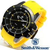 楽天スーパーSALE/スーパー/SALE [正規品] スミス&ウェッソン Smith & Wesson ミリタリー腕時計 TROOPER WATCH YELLOW/BLACK SWW-397-YW [あす楽] [ラッピング無料] [送料無料]