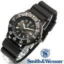 [正規品] スミス&ウェッソン Smith & Wesson スイス トリチウム ミリタリー腕時計 SWISS TRITIUM SPORT WATCH BLACK SWW-450-BLK [あす楽] [ラッピング無料] [送料無料] [雑誌掲載ブランド]