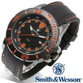 [送料無料] [正規品] スミス&ウェッソン Smith & Wesson ミリタリー腕時計 SCOUT WATCH ORANGE/BLACK SWW-582-OR [あす楽] [ラッピング無料]
