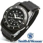[送料無料] [正規品] スミス&ウェッソン Smith & Wesson ミリタリー腕時計 COMMANDO WATCH BLACK SWW-5982 [あす楽] [ラッピング無料]