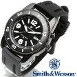 [送料無料] [正規品] スミス&ウェッソン Smith & Wesson ミリタリー腕時計 PARATROOPER WATCH BLACK SWW-5983 [あす楽] [ラッピング無料]