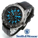 正規品 スミス&ウェッソン Smith Wesson ミリタリー腕時計 CALIBRATOR WATCH BLUE/BLACK SWW-877-BL あす楽 ラッピング無料 送料無料 雑誌掲載ブランド