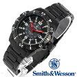[送料無料] [正規品] スミス&ウェッソン Smith & Wesson スイス トリチウム ミリタリー腕時計 EMISSARY WATCH BLACK SWISS TRITIUM SWW-88-B [あす楽] [ラッピング無料]