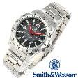 [送料無料] [正規品] スミス&ウェッソン Smith & Wesson スイス トリチウム ミリタリー腕時計 EMISSARY WATCH SILVER SWISS TRITIUM SWW-88-S [あす楽] [ラッピング無料]
