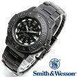 [送料無料] [正規品] スミス&ウェッソン Smith & Wesson スイス トリチウム ミリタリー腕時計 SWISS TRITIUM DIVER WATCH BLACK/BLACK SWW-900-BLK [あす楽] [ラッピング無料]
