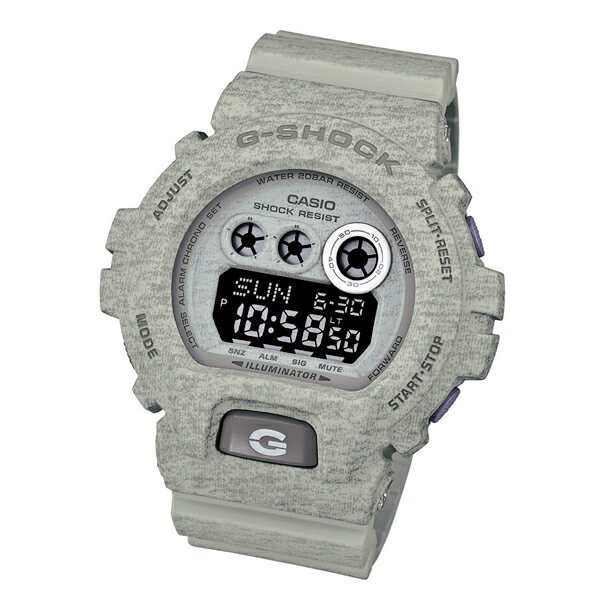CASIO【カシオ G-Shock ヘザード・カラー・シリーズ GDX-6900HT-8 腕時計 グレー】