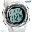 J-AXIS 電波デジタルウォッチ ソーラー SRC03-W