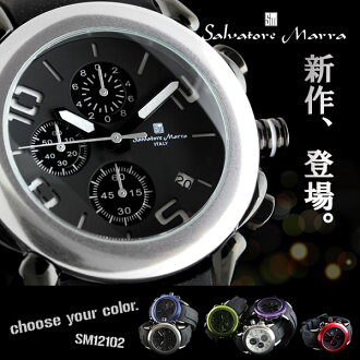 Salvatore Mara mens watch chronograph Salvatore Marra