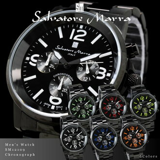 Salvatore, Mara Salvatore Marra mens watch chronograph SM12109