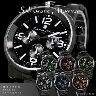 Salvatore, Mara Salvatore Marra mens watch chronograph SM12109