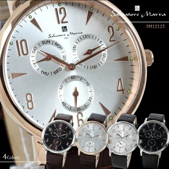 Salvatore Marra Salvatore Mara men watch watch antique-like magazine publication model