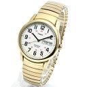 TIMEX タイメックス 腕時計 T20471 EASY READER/イージーリーダー ミリタリーウォッチ メンズ レディース 時計 アナログ ミリタリー カジュアル ゴールド インディグロナイトライト搭載