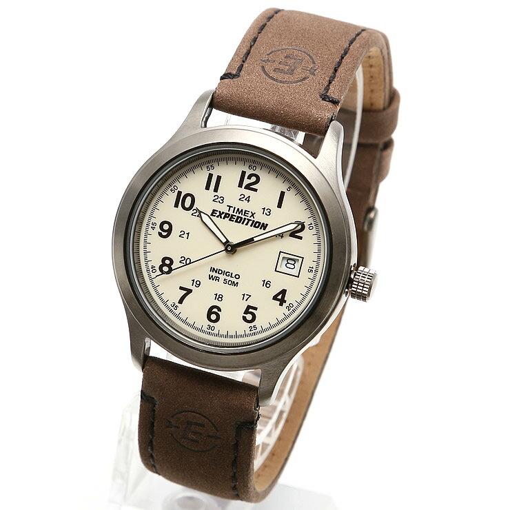 TIMEX タイメックス EXPEDITION METAL FIELD / エクスペディション メタル フィールド T49870 ミリタリーウォッチ メンズ レディース 時計 アナログ ミリタリー カジュアル ブラウン