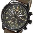 TIMEX タイメックス 腕時計 クロノグラフ T49905 [エクスペディション フィールドクロノグラフ インディグロナイトライト搭載] メンズ レディース 時計 アナログ ミリタリー カジュアル ブラック