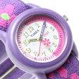 タイメックス キッズ TIMEX KIDS アナログ 腕時計 フラワー 子供用 キッズ時計 キッズウォッチ エラスティックストラップ T89022