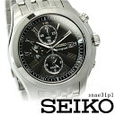 SEIKO セイコー クロノグラフ メンズ腕時計 snae31p1