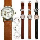 腕時計 ラインアート ディズニー ミッキー ミニー MKN001 1800 レディース メンズ ユニセックス 腕時計 ディズニー 革ベルト 時計 かわいい 腕時計 ベルト キャラクター グッズ 通販