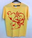 ショッピングジェル 【メール便送料無料】 Tシャツ 天使 ユニセックス S M 黄色 イエロー 通販 エンジェル かわいい