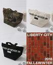 ショッピングリバティ LIBERTY CITY / リバティーシティ / [NEVER UP NEVER IN] CART BAG / 3Color【183427LC】