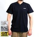 GT-HAWKINS(ホーキンス)Tシャツ 半袖V首(綿 コットン100%天竺) HK2101(GTホーキンスTシャツ)Vネックtシャツ