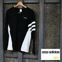 アディダス (adidas)モードミックス(胸ポケット)長袖Tシャツ BCN68(ロングスリーブt)