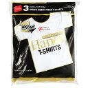 Hanes ヘインズ ゴールドパック 3P−パック クルーネックTシャツ(ヘインズゴールドパック)3枚組み 白tシャツ