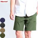 送料無料)Marmot(マーモット)リム ハーフパンツ Rim Half Pant TOMNJD90 春夏 ショートパンツ 撥水 ストレッチ