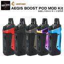 【 送料無料 あす楽 】geekvape AEGIS BOOST POD MOD KIT 1500mAh 内蔵バッテリー 電子タバコ スターターキット vape +10mlリキッド2本付き