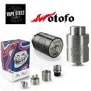 Wotofo The Troll RDA V2 ベロシティデッキ搭載モデル アトマイザー 電子タバコ VAP(送料無料)