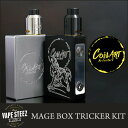 正規品 COILART MAGE BOX TRICKER KIT メカニカルMOD