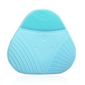 超音波 クレンジング 美顔器 USB ピーリング 毛穴 汚れ (ブルー)[定形外郵便、送料無料、代引不可]