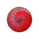 コスチューム用小物 和傘 《赤(レッド)》 コスプレ 桜吹雪...