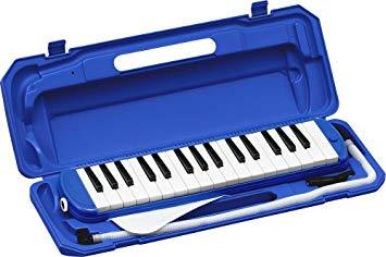 KYORITSUメロディーピアノP3001-32K/BL(ブルー)ケース付YDKG-kd[送料無料(