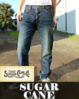 SUGAR CANE sugar cane jeans 14 oz LONE STAR JEANS ( 5 Year Aged ) (sugarcane is beautiful / fall / autumn clothes / shopping / Rakuten) TWO STAR スタージーンズリメイク cutting length for SC40902H mens fs3gm