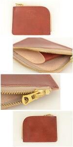 革蛸DEVILHEADデビルヘッドK-2L字ファスナーコインケース[ay]財布ワレットウォレット昭南皮革イタリアンレザーのような日本の革