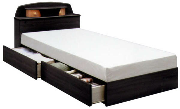 シングルベッド ベット ベッド 宮付き 収納機能付きベッド ベッドフレーム 木製 【*マットレス別売りです】  通販 シングルベッド ベッド シンプル シック ベッドフレーム 宮付 新生活 収納 ホテル 高級 シンプル 送料無料