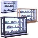 数量限定 コレクションケース コレクションボード キュリオケース フィギュアケース コレクションラック ショーケース ガラスショーケース 飾り棚 ロータイプ 幅60cm 高さ40cm 奥行18cm 選べる3色 ホワイト ナチュラル ブラウン 送料無料 楽天 通販