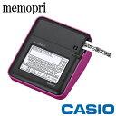 CASIO memopri メモプリ MEP-T10 ピンク 手書き/パソコン入力モデル